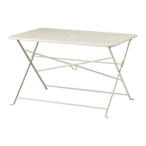 Ikea Mesa, al Aire Libre, Plegable Beige 1428.202614.3826: Amazon ...