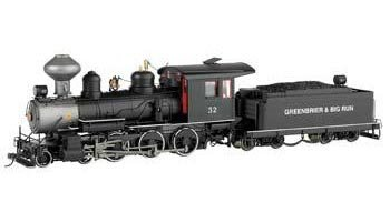 Bachmann Trains BAC28906 On30 Spectrum 4-6-0 w/DCC & Sound, G&BR #32