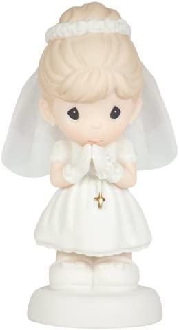Precious Moments May God s Blessings Be with You On Your First Holy Communion Figurine, Girl