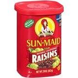 Sun-Maid Natural California Raisins, 20 oz(Pack of 4)