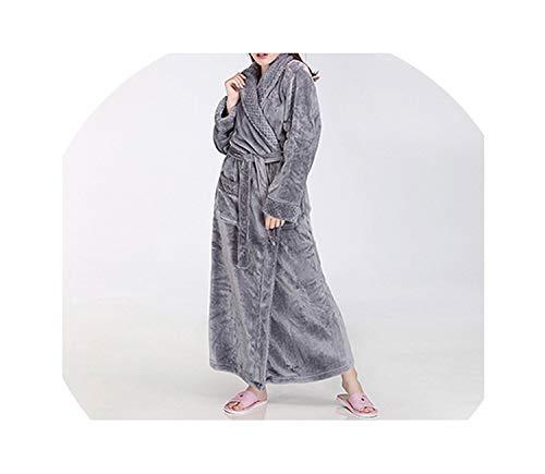 Women Men Thermal Luxury Flannel Extra Long Winter