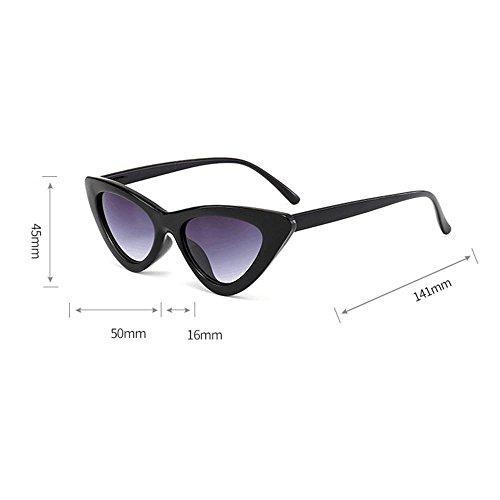 Chic Retro Cat Sol Sol Super De Moda Gato Eye de Vintage Mujer de M Eyewear Ojos Gafas Logobeing de Gafas q8vwf8T