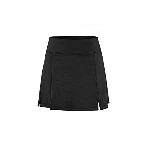 Fila Tennis Skirt - Fila Women's Long Double Slit Skort, Black, M