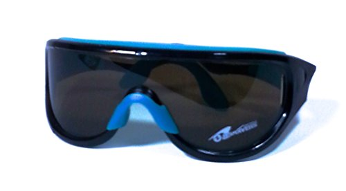 Splashwear Surface Aquatic Eye Protection Sunglasses by US Divers (Electric Blue, - Wind Protection Sunglasses