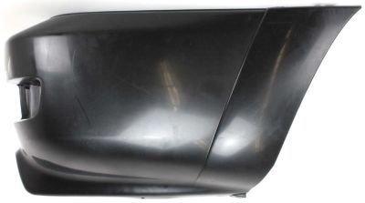 Evan-Fischer EVA21472052189 Bumper Extension Passenger Side RH Rear End Smooth black