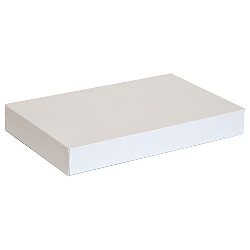 KC Store Fixtures 07103 Garment Box, 15'' x 9.5'' x 2'', White (Pack of 100) by KCF (Image #1)