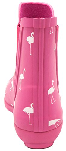 London Dimma Womens Piccadilly Regn Boot Flamingo