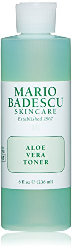 Mario Badescu Aloe Vera Toner, 8 oz. (Best Drugstore Toner For Acne Prone Skin)