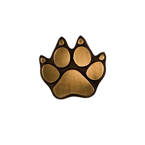 (Dog Paw Doorbell Ringer - Bronze)