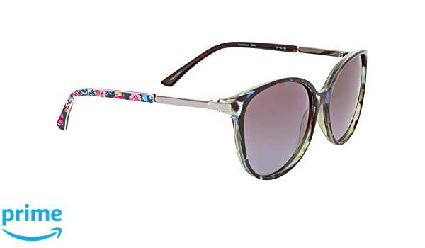 4f32b73b30 Amazon.com  Vera Bradley Women s Tori Polarized Round Sunglasses ...