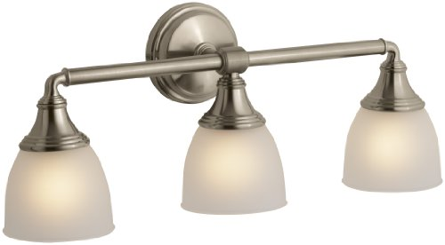 (KOHLER K-10572-BV DevonshireTriple Wall Sconce, Vibrant Brushed Bronze)