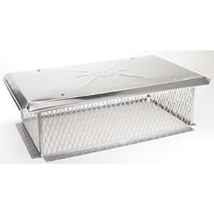 Gelco 3/4 inch mesh Chimney Cap 10H x 13W x25L
