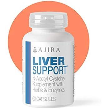 Amazon.com: Ajira suplemento de apoyo para hígado (60 ...