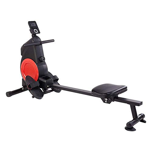 ZJZ Roeimachine voor thuisgebruik Opvouwbare Stille Magnetische Controle, Aerobic Oefening Fitnessapparatuur, Mannelijke…