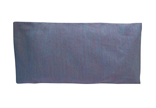(Peacegoods Cotton Eye Pillow COVER 4.5 x 9 Washable - fits our eye pillows or yours - yoga aromatherapy mediation massage - purple lilac lavender )