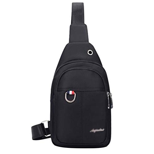 Shoulder Business Bag Byqny Men Sling Bags Black Women Chest Travel Crossbody For Outdoors Backpack qatfw6a