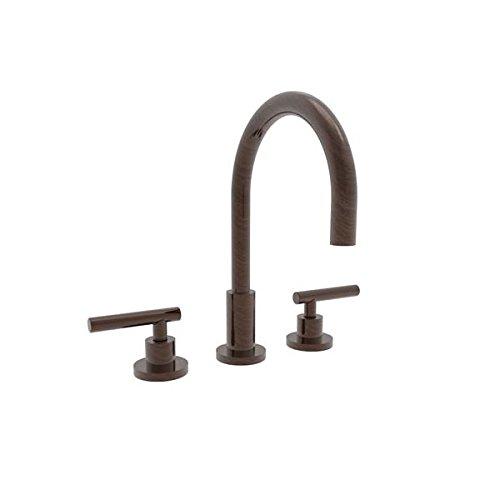 [Newport Brass 990L East Linear Double Handle Widespread Lavatory Faucet with Met, Venetian Bronze] (Bronze 990 Double Handle)