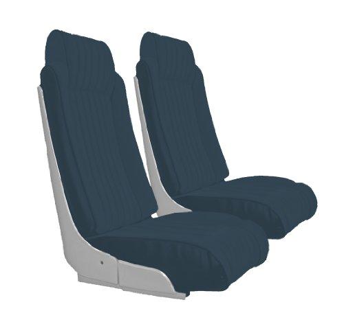 Acme U2009-2309 Front Medium Blue Vinyl Bucket Seat Upholstery ()