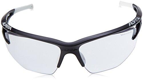 ALPINA eye - 5 vL hR taille unique Black Matt/White