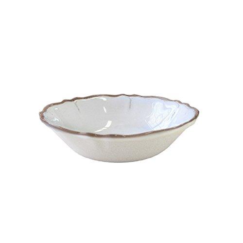 Le Cadeaux Rustica Antique Cereal Bowl, White