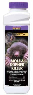 - Moletox Ii Mole & Gopher Killer - 12 Pack