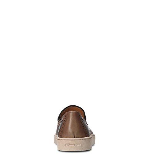 Santoni Skinn Loafers Menns Mbgc20657pasktiss40 Brunt rqargZ