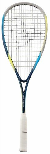 DUNLOP Biomimetic Evolution 130 Squash Racquet - Black/Blue/Yellow