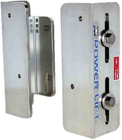 CMC 4 Inch Setback Two Piece Manual Jack Plate 40012