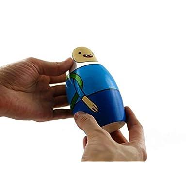 MATRYOSHKA&HANDICRAFT Matryoshkas Russian Nesting Dolls Cartoon Adventure Time Set 7 pcs Characters Finn and Jake: Toys & Games