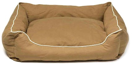 Khaki L Khaki L Dog Gone Smart Lounger Bed, L, Khaki