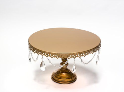 Opulent Treasures Grand Wedding Cake Stand (Gold) by Opulent Treausres