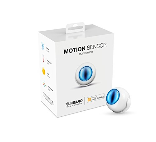 Fibaro USA FGBHMS-001  Motion Sensor, HomeKit-enabled Multi-Sensor