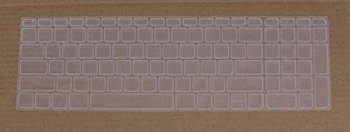 Saco Chiclet Keyboard Skin for HP 250 G3 Notebook   Transparent