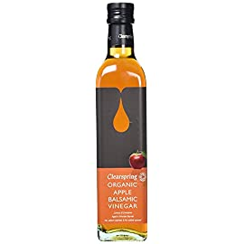 Clearspring - Organic Apple Balsamic Vinegar - 500ml 25 The Clearspring goal is to get organic food back on the dining table, so that you can enjoy the same quality of foods as your grandparents did. By developi