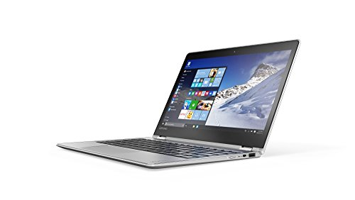 Lenovo YOGA 710 29,46 cm (11,6 Zoll Full HD IPS) Slim Convertible Notebook (Intel Core m3-6Y30, 2,2GHz, 8GB RAM, 256GB SSD, Intel HD Grafik 515, Touchscreen, Windows 10) silber