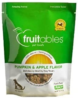 product image for Fruitables Pumpkin & Apple Mix Dog Treats (8x7 OZ)
