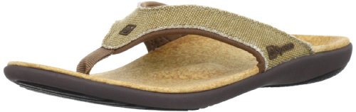 nvas Sandal Sandal, Straw/Java/Cork, 10M Medium US (Cork Leather Flip Flops)