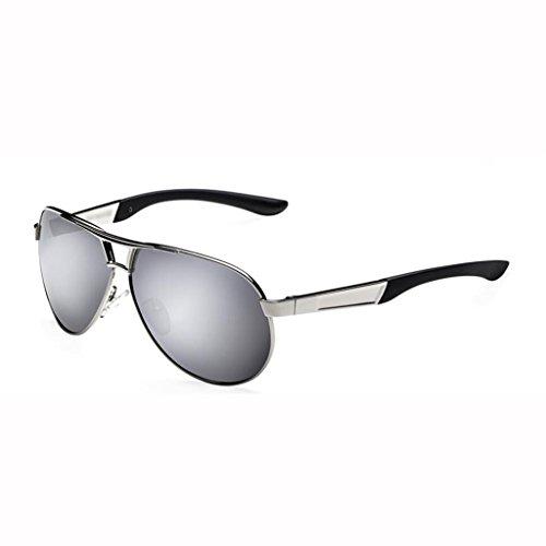Lunettes lunettes de protecti lunettes UV400 soleil cadeaux pare soleil noires de soleil lunettes de lunettes hommes de soleil nouvelles soleil soleil protection de de lunettes de de Silver D soleil randonneur T6qzxTrpnf
