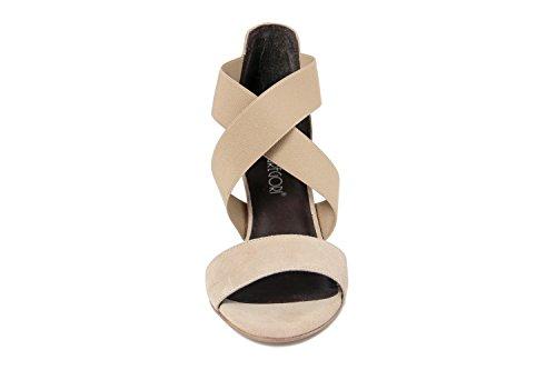 GIANNI GREGORI - FEMME - GG_8035709_BRASIL_CARTONE sandale en cuir