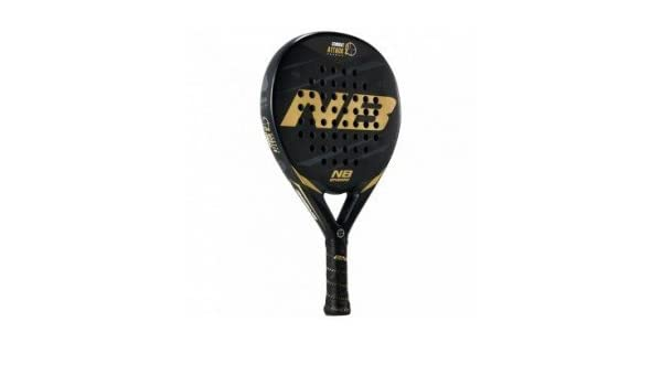 Pala Pádel Enebe Combat Attack Carbon 2 C/Funda: Amazon.es ...