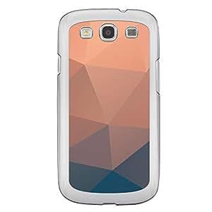 Loud Universe Samsung Galaxy S3 5 Geometrical Printing Files A Geo 40 Printed Transparent Edge Case - Multi Color