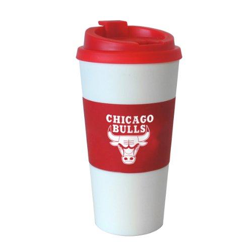 NBA Chicago Bulls Sleeved Travel Tumbler, 16-Ounce - Chicago Bulls Tumbler
