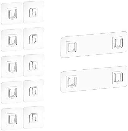5//10//20 unidades Ganchos adhesivos de pared de doble cara Abilie