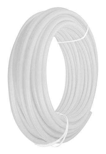Pexflow PFW-W34500 PEX Potable Water Tubing Non-Barrier Pipe, 3/4 Inch x 500 Feet, White by PEXFLOW