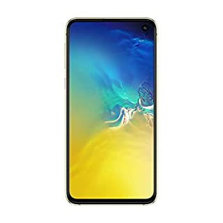 "Samsung Galaxy S10e 128GB+6GB RAM SM-G970 Dual Sim 5.8"" LTE Factory Unlocked Smartphone (International Model) (Canary Yellow)"