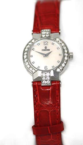 Concord La Scala Diamond Markers Diamond Bezel Women's Watch (La Concord Scala Chronograph)