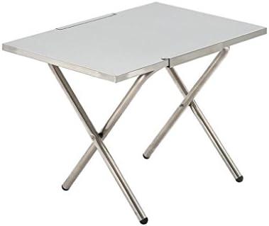 Mesa plegable de acero inoxidable – kingwo portátil Multi Función ...