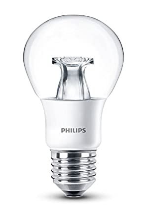 philips led warm glow e27 edison screw dimmable light bulb 6 w 40 w warm white. Black Bedroom Furniture Sets. Home Design Ideas