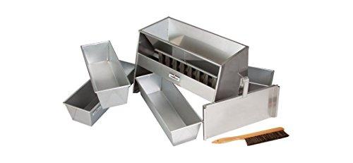 Sample Splitter - HUMBOLDT H-3992 Sample Splitter with 8 Chutes, 2.5'' Width
