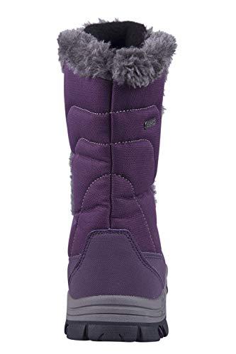 e Ohio Donna Mountain da Doposci Neve Caldi Impermeabili e Invernali Viola Warehouse per Stivali Ideali pwXqt8XS